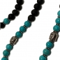 Preview: Lava Stone & Turquoise Mala